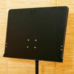 Note Stand Black